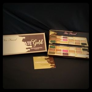 Too Faced Chocolate GOLD palette NEW